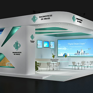 国外展3d模型