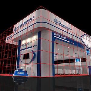 西筑机械展览模型