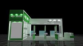 纳斯达展厅展览模型
