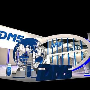 DMS国际展展览模型