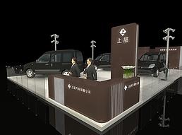 汽车展展览模型