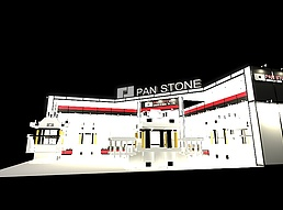 PAN展展览模型