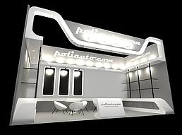 展柜展展览模型