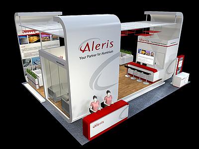 aleris展覽模型