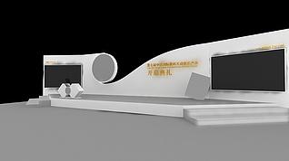 开幕式展展览模型