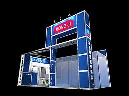 精品机械展展览模型