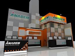 ANADEM展展览模型