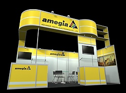 amejin展展览模型