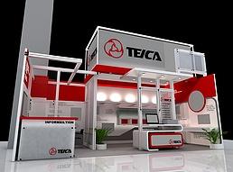 TE展展览模型
