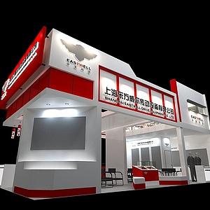 东方威尔设备展展览模型