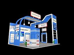 温州市液压展展览模型