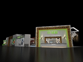 绿源电动车展览模型