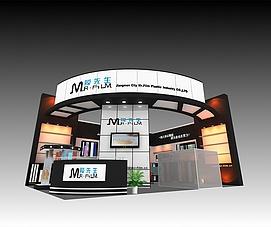 膜先生展展览模型