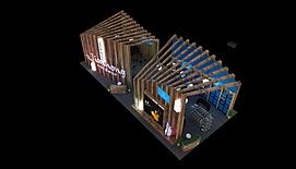 9X20merry体博会展览模型