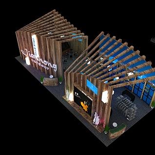 9X20merry体博会3d模型