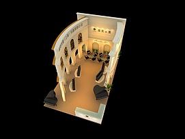 10X6钢琴展览模型