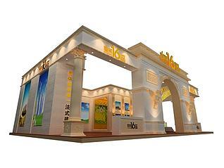 10X15沈阳泰莱地产展览模型