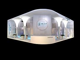 13X12-兰蔻展览模型