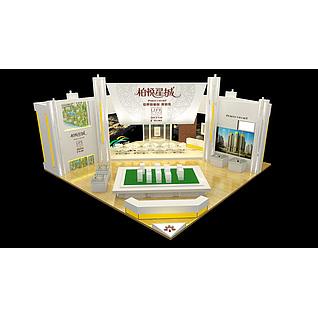 15X15柏悦星城展览模型