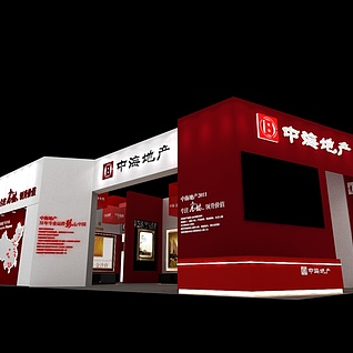房展-中海12X203d模型