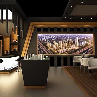万科的一个房展3d模型