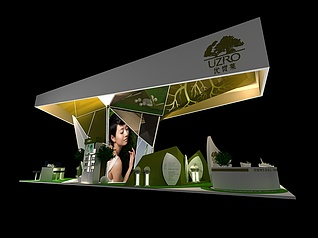 生态展展览模型