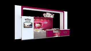 蒂兰圣雪冰淇淋展展览模型