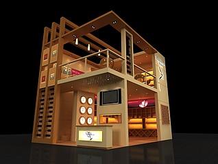 圣佐治商贸公司展厅展览模型
