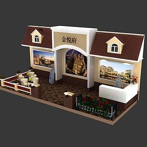 8x3金悦府展览模型