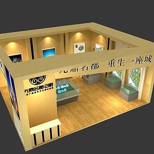 9x8九鼎展览模型