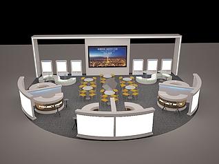 房地产商场巡展3D模型展览模型