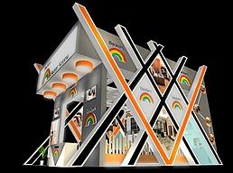 某科技公司展厅展览模型