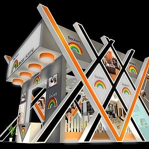 某科技公司展廳展覽模型