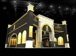 某地板公司展厅展览模型