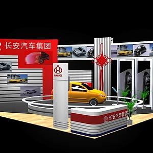 汽車公司展廳展覽模型