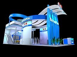 LED电源公司展厅展览模型