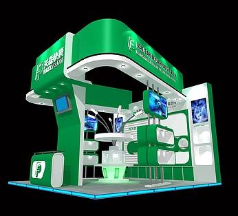 电器技术展,电路科技公司展厅