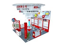 文具公司展厅展览模型