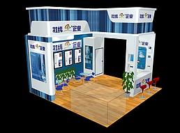 公司展厅展览模型