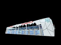 出版公司展厅展览模型