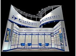 现代展厅展览模型