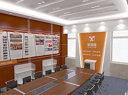 党建活动室展览模型