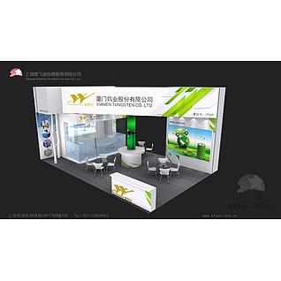新能源材料展覽模型