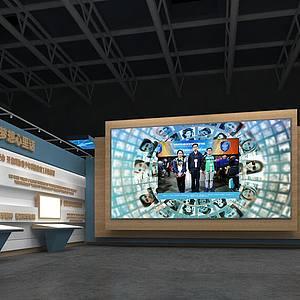 科技教育展館3d模型