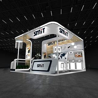 电子科技展览模型