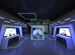 360年中合作伙伴大会展览模型