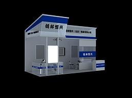 综合招商展厅展览模型