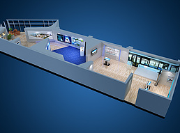 信息消费展厅展览模型