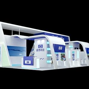 惠普科技展覽模型