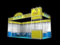 小型旅游用品展览展厅展览模型